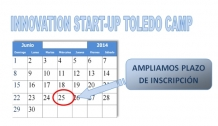 "AMPLIADO plazo inscripción al ""Innovation Start-up Toledo Camp"""